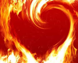 heart and flame