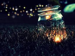 fire in jar