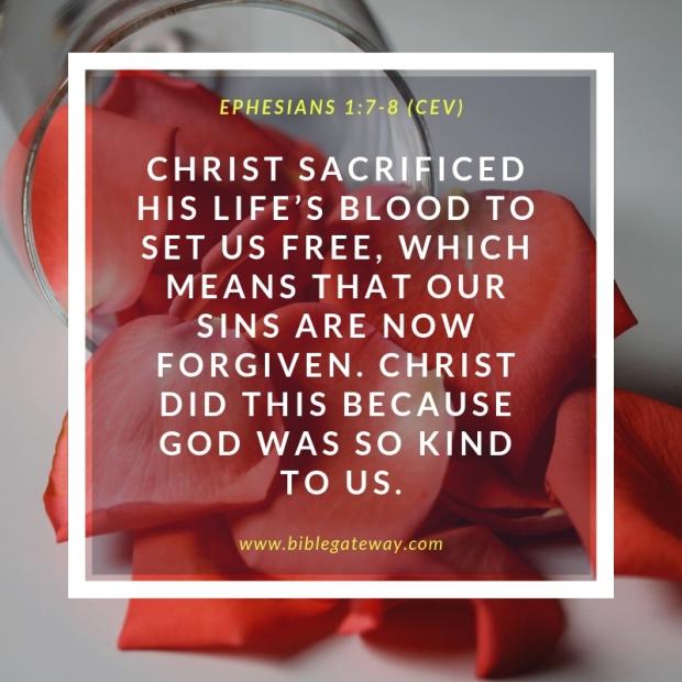 Ephesians 1_7-8 (CEV)