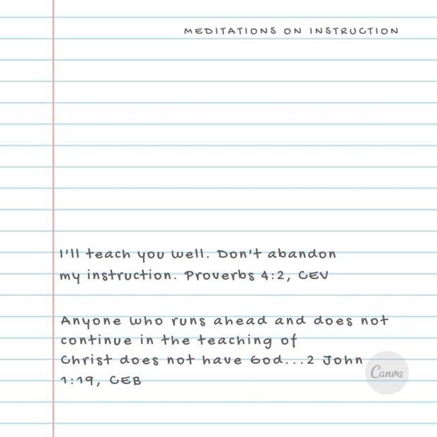 Proverbs 4_2 CEV