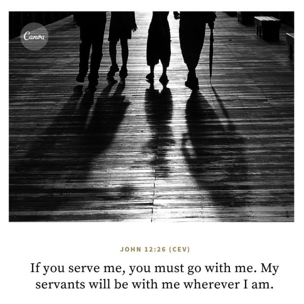 """Then Jesus said to his disciples, """"Whoever wants to be my disciple must deny themselves and take up their cross and follow me.-2"""