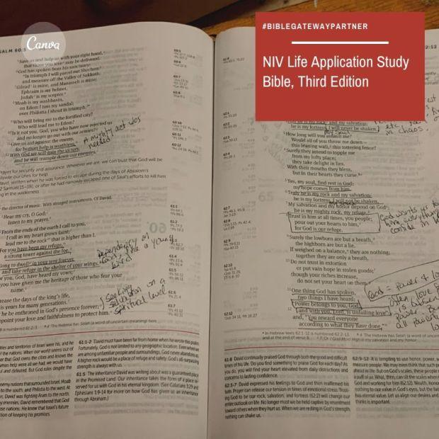 NIV Life Application study Bible, third edition-5